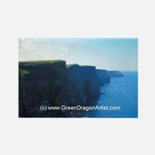 Cute Cliffs of moher Rectangle Magnet