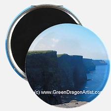 Unique Cliffs of moher Magnet