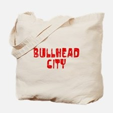 Bullhead City Faded (Red) Tote Bag