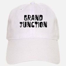 Grand Junction Faded (Black) Baseball Baseball Cap