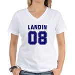 Landin 08 Women's V-Neck T-Shirt