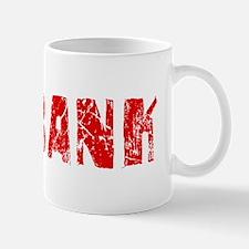 Burbank Faded (Red) Mug