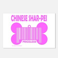 CHINESE SHAR-PEI PRICELESS Postcards (Package of 8