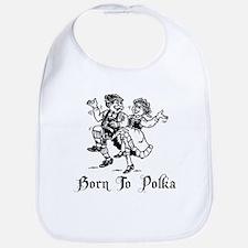 Born To Polka Bib
