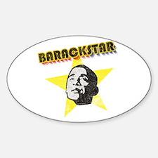 BarackStar Oval Decal
