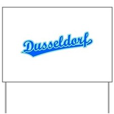 Retro Dusseldorf (Blue) Yard Sign