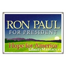 Premium Ron Paul Banner