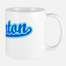 Retro Edmonton (Blue) Mug
