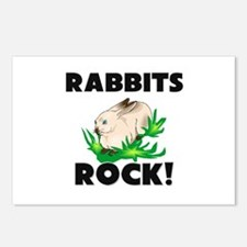 Rabbits Rock! Postcards (Package of 8)
