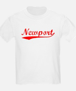 Vintage Newport (Red) T-Shirt