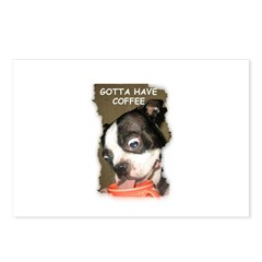 GOTTA HAVE COFFEE Postcards (Package of 8)