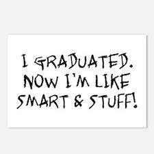 Smart & Stuff Graduate Postcards (Package of 8)