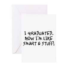 Smart & Stuff Graduate Greeting Cards (Pk of 20)