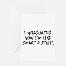Smart & Stuff Graduate Greeting Cards (Pk of 10)