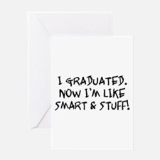Smart & Stuff Graduate Greeting Card