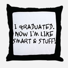 Smart & Stuff Graduate Throw Pillow