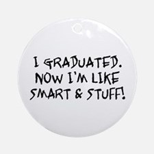 Smart & Stuff Graduate Ornament (Round)