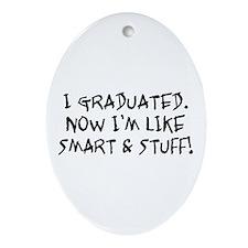 Smart & Stuff Graduate Oval Ornament