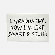 Smart & Stuff Graduate Rectangle Magnet