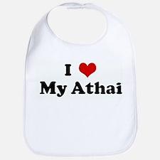 I Love My Athai Bib