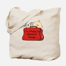 Going to Abuela's Funny Tote Bag