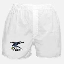 Purple Martins Rock! Boxer Shorts
