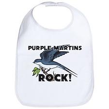Purple Martins Rock! Bib