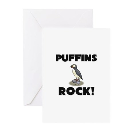 Puffins Rock! Greeting Cards (Pk of 10)