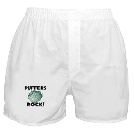 Puffers Rock! Boxer Shorts