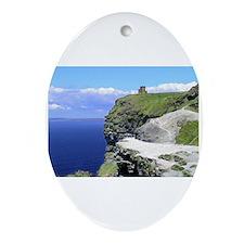 Unique Cliffs moher Oval Ornament