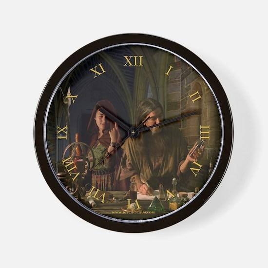 The Alchemist Fantasy Wall Clock
