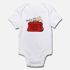 Going to Babcia's Funny Infant Bodysuit