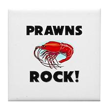 Prawns Rock! Tile Coaster