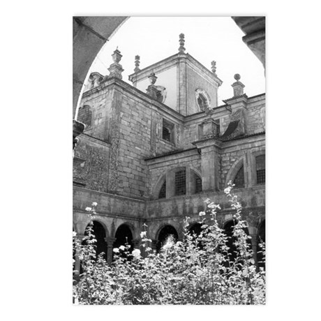 Postcards: Old Courtyard (Pkg of 8)