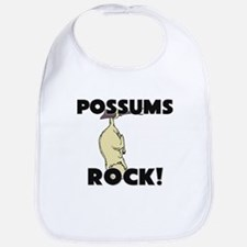 Possums Rock! Bib