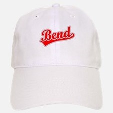 Retro Bend (Red) Baseball Baseball Cap