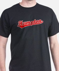 Retro Hampton (Red) T-Shirt