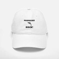Porpoises Rock! Baseball Baseball Cap