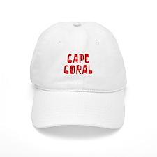Baseball Cape Coral Faded (Red) Baseball Cap