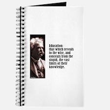 "Twain ""Education"" Journal"