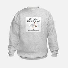 TOP Softball Triple Threat Sweatshirt