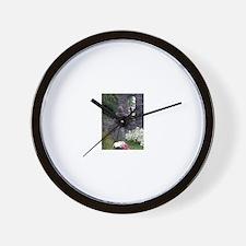 Cute Pagan fire Wall Clock