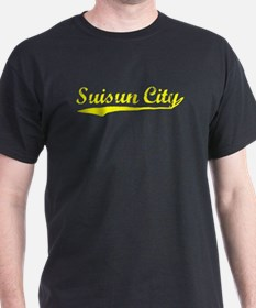 Vintage Suisun City (Gold) T-Shirt