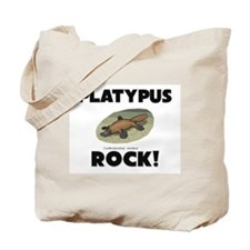 Platypus Rock! Tote Bag