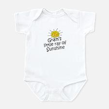 Gram's Sunshine Infant Bodysuit