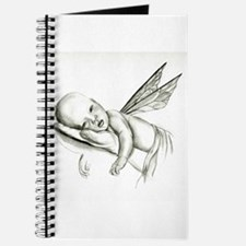 Moon Swing Fairy Baby Journal