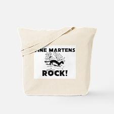 Pine Martens Rock! Tote Bag