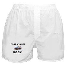 Pilot Whales Rock! Boxer Shorts