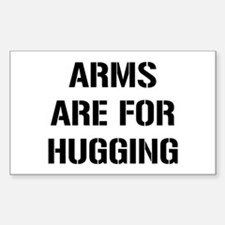 Arms Hugging Decal