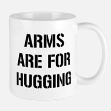 Arms Hugging Mug
